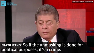 Napolitano Reveals Possible Extent Of Surveillance Under Obama - Video