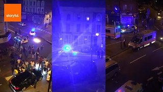 Casualties Confirmed After Attack on Pedestrians in London - Video