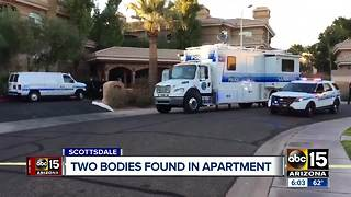 Two bodies found deceased in a Scottsdale apartment - Video