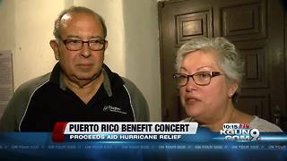 Tucsonans host fundraiser concert for hurricane relief in Puerto Rico - Video