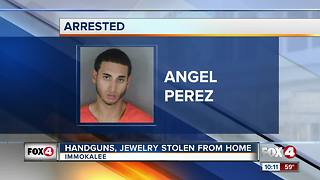 Handguns, Jewelry Stolen from Home - Video
