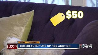 Luxury strip hotel furniture could be yours for cheap - Video