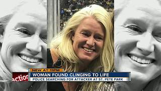 St. Pete detectives seek info about woman found suffering from life-threatening trauma in park - Video