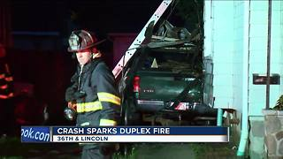 Suspected Drunk Driver Crashes Into Own Milwaukee Home
