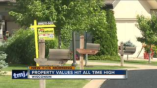 Wisconsin property value increases largest since 2007 - Video