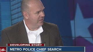 Former IMPD Chief Troy Riggs on search for new chief - Video