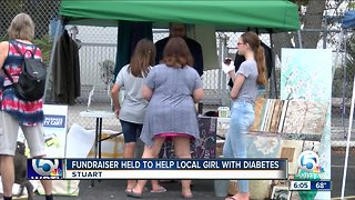 Fundraiser held to help local girl with diabetes - Video