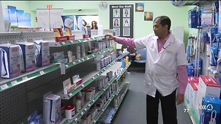 Stores running out of supplies due t Coronavirus fears
