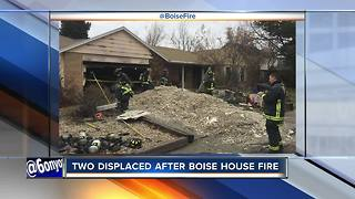 Boise Fire responds to house fire early Sunday - Video