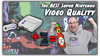 Get the best images from Super Nintendo with Voultar's RGB Mod Kit