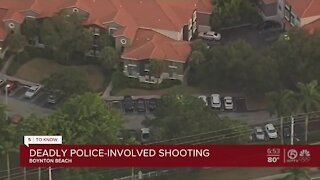 Man killed in Boynton Beach police-involved shooting
