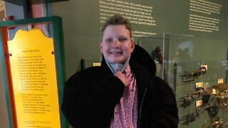 """14-year-old Asher wants to be adopted by a """"a kind, nurturing family."""""""