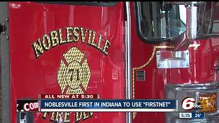 Noblesville first city in Indiana to use FirstNet - Video