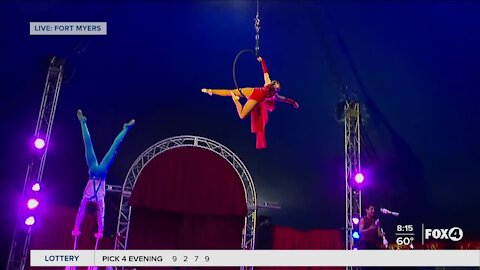 Circus Lena comes to Edison Mall in Fort Myers