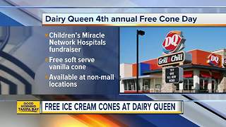 Celebrate the first day of Spring with a FREE cone from Dairy Queen on Tuesday - Video