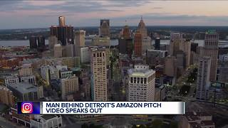 Man Behind Detroit's Amazon pitch video speaks out - Video