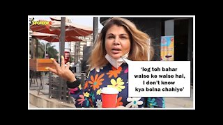 Rakhi Sawant Expresses Shock Watching People Roam Outside Amid Spike In COVID-19 Case