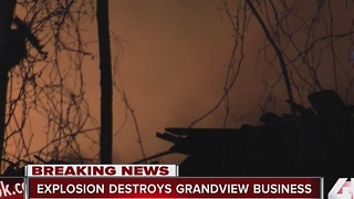 Explosions destroys Grandview business - Video