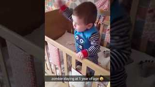 One-Year-Old Ready for the Club - Video