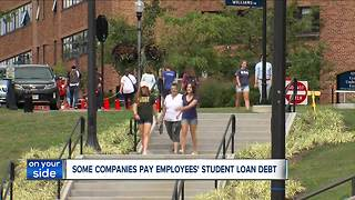 More and more employers are paying off their employees' college debt - Video