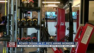 Power Design in St. Pete hiring workers - Video