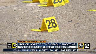 One dead after double shooting in Baltimore - Video