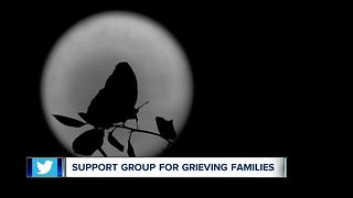 Local support group for grieving families - Video