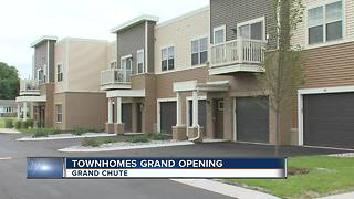 Affordable housing development opens in Grand Chute - Video