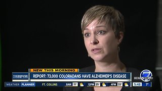 Report: 73,000 people in Colorado have Alzheimer's Disease
