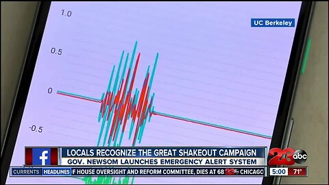 Locals recognize 'The Great Shake' campaign