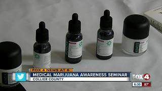 Medical marijuana seminar held in Naples - Video