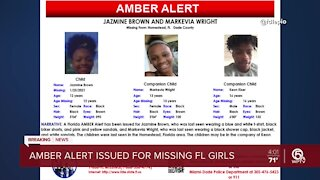 Amber Alert issued for missing Miami-Dade County girls