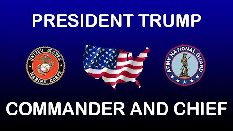 OUR PRESIDENT *COMMANDER AND CHIEF*