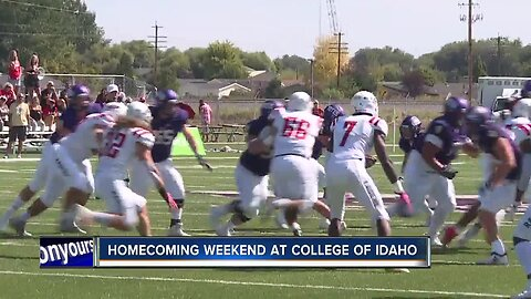 College of Idaho improves to 3-0 with a 41-38 homecoming win over Southern Oregon