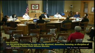 Fire and Police Commission offers little explanation after voting to demote Chief Alfonso Morales
