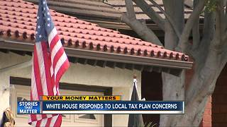 White House responds to local tax plan concerns - Video