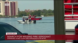 Search efforts continue for missing Detroit Fire sergeant