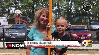 Fairfield Central Elementary raises money to build playground in honor of Superbubz - Video
