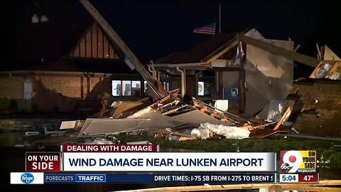 Reeves Gold Course near Lunken Airport damaged by storm