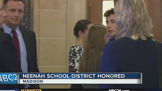 Neenah schools honored in State of the State