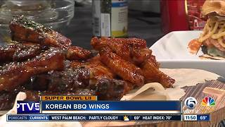 Korean BBQ wings from Duffy's - Video