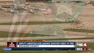 Deputy arrested for leaking Fort Lauderdale shooting video - Video