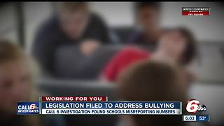 State lawmaker files bill following Call 6 Investigation into schools' misreported bullying numbers - Video