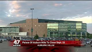 The Palace of Auburn Hills to close after Bob Seger concert - Video