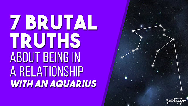 Here are 7 truths you must know about loving an Aquarius zodiac sign to successfully woo the.