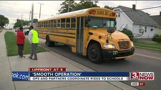 Boys Town, OPS transports Yale Park students - Video