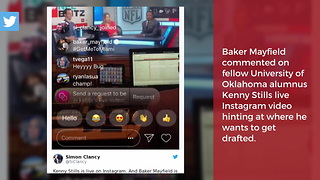 Baker Mayfield Reveals The Team He Wants, Then Backtracks - Video