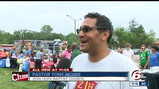 Zion Church back-to-school rally - Video