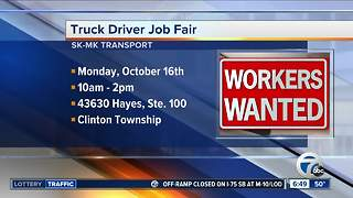 SKMK Transport hiring truck drivers now - Video