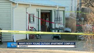 Cudahy police investigating homicide after man's body found in garage